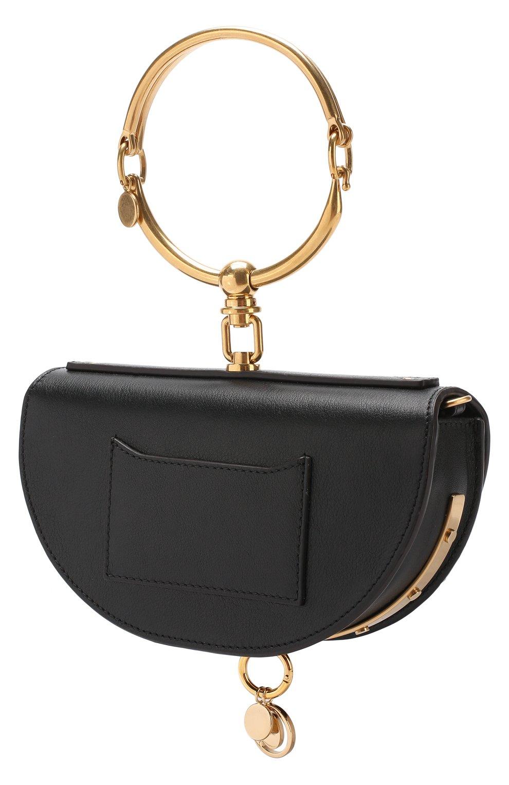 Женская сумка nile minaudière CHLOÉ черного цвета, арт. CHC17US302H5H | Фото 3