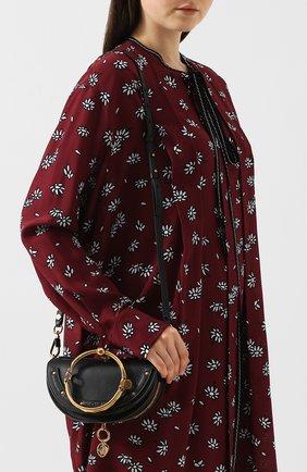 Женская сумка nile minaudière CHLOÉ черного цвета, арт. CHC17US302H5H | Фото 5