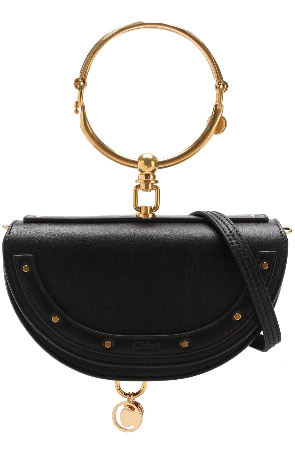Женская сумка nile minaudière CHLOÉ черного цвета, арт. CHC17US302H5H | Фото 6