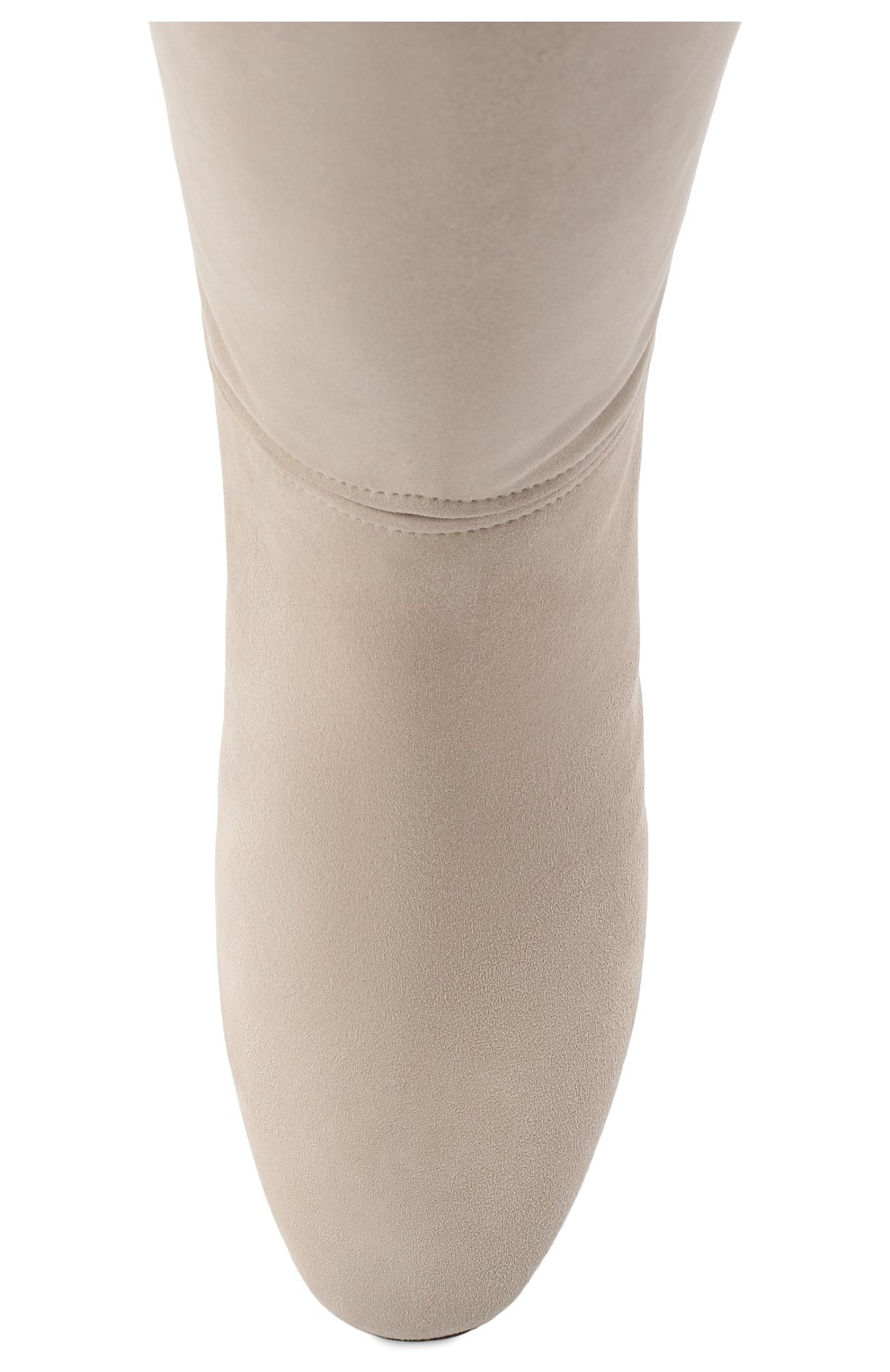 Женские замшевые сапоги jeanne LORO PIANA светло-бежевого цвета, арт. FAI2296 | Фото 5