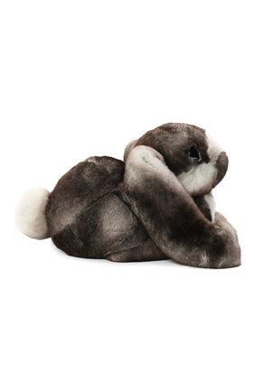 Мужского игрушка кролик с меховой отделкой LORO PIANA серого цвета, арт. FAE1467 | Фото 2