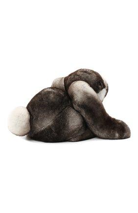 Мужского игрушка кролик с меховой отделкой LORO PIANA серого цвета, арт. FAE1467 | Фото 3
