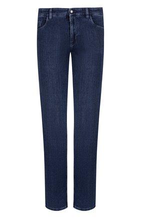 Мужские джинсы прямого кроя ZILLI синего цвета, арт. MCQ-00040-SUST1/R001/AMIS | Фото 1