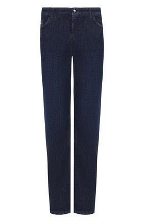 Мужские джинсы прямого кроя ZILLI темно-синего цвета, арт. MCQ-00032-HIPE1/R001 | Фото 1