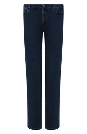 Мужские джинсы прямого кроя ZILLI синего цвета, арт. MCQ-00044-SUST1/S001 | Фото 1