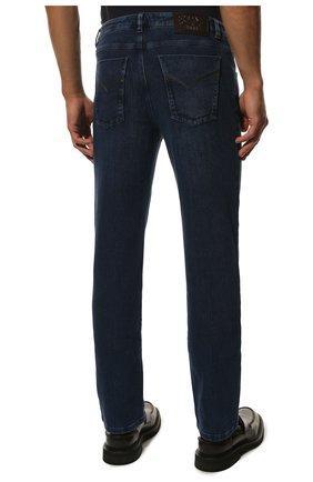 Мужские джинсы прямого кроя ZILLI синего цвета, арт. MCQ-00044-SUST1/S001 | Фото 4