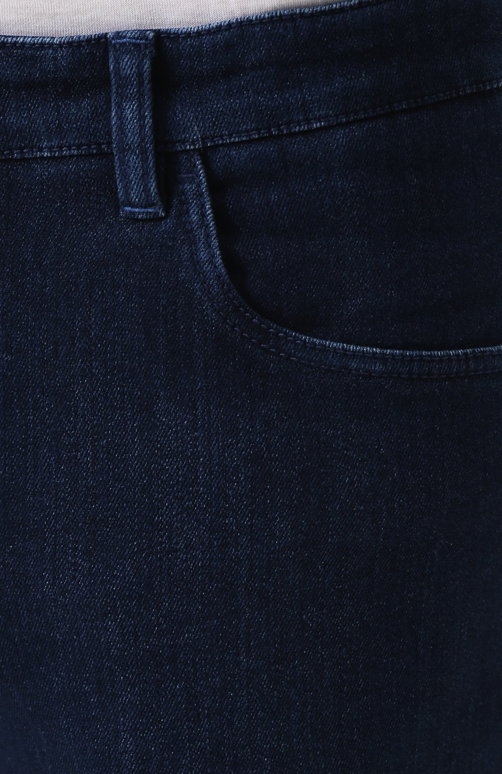Мужские джинсы прямого кроя ZILLI синего цвета, арт. MCQ-00045-SUST1/R001 | Фото 5