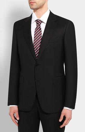 Мужской шерстяной костюм CANALI черного цвета, арт. 11280/10/AA00099 | Фото 2