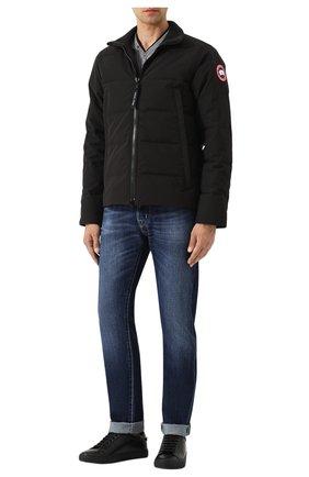 Мужская стеганый пуховик woolford CANADA GOOSE черного цвета, арт. 3807M | Фото 2