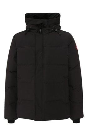 Мужская пуховая куртка macmillan CANADA GOOSE черного цвета, арт. 3804M | Фото 1 (Материал внешний: Синтетический материал, Полиэстер; Рукава: Длинные; Материал подклада: Синтетический материал; Статус проверки: Проверено, Проверена категория; Длина (верхняя одежда): Короткие; Мужское Кросс-КТ: Пуховик-верхняя одежда, Верхняя одежда, пуховик-короткий; Кросс-КТ: Пуховик, Куртка; Материал утеплителя: Пух и перо; Стили: Спорт-шик)
