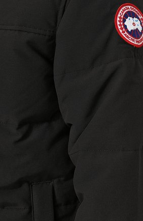 Мужская пуховая парка macmillan CANADA GOOSE черного цвета, арт. 3804M | Фото 5