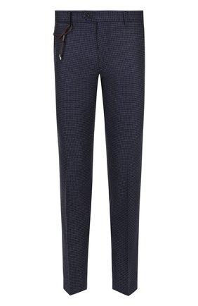 Мужской шерстяные брюки BERWICH темно-синего цвета, арт. SC/1 FIBB/RD8071 | Фото 1