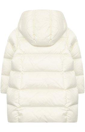 Стеганое пальто с капюшоном | Фото №2