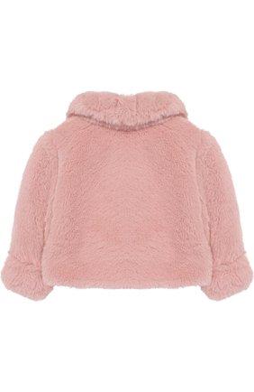 Куртка из искусственного меха Aletta розового цвета   Фото №1