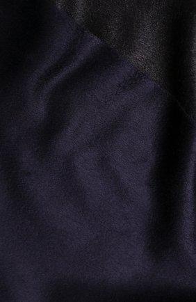 Шарф из смеси шелка и кашемира с бахромой Cortigiani бежевый | Фото №1
