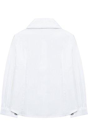 Хлопковая блуза с декором | Фото №2