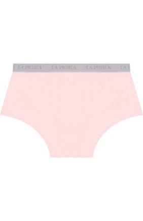 Детские трусы-слипы из вискозы LA PERLA розового цвета, арт. 54877/2A-6A | Фото 2