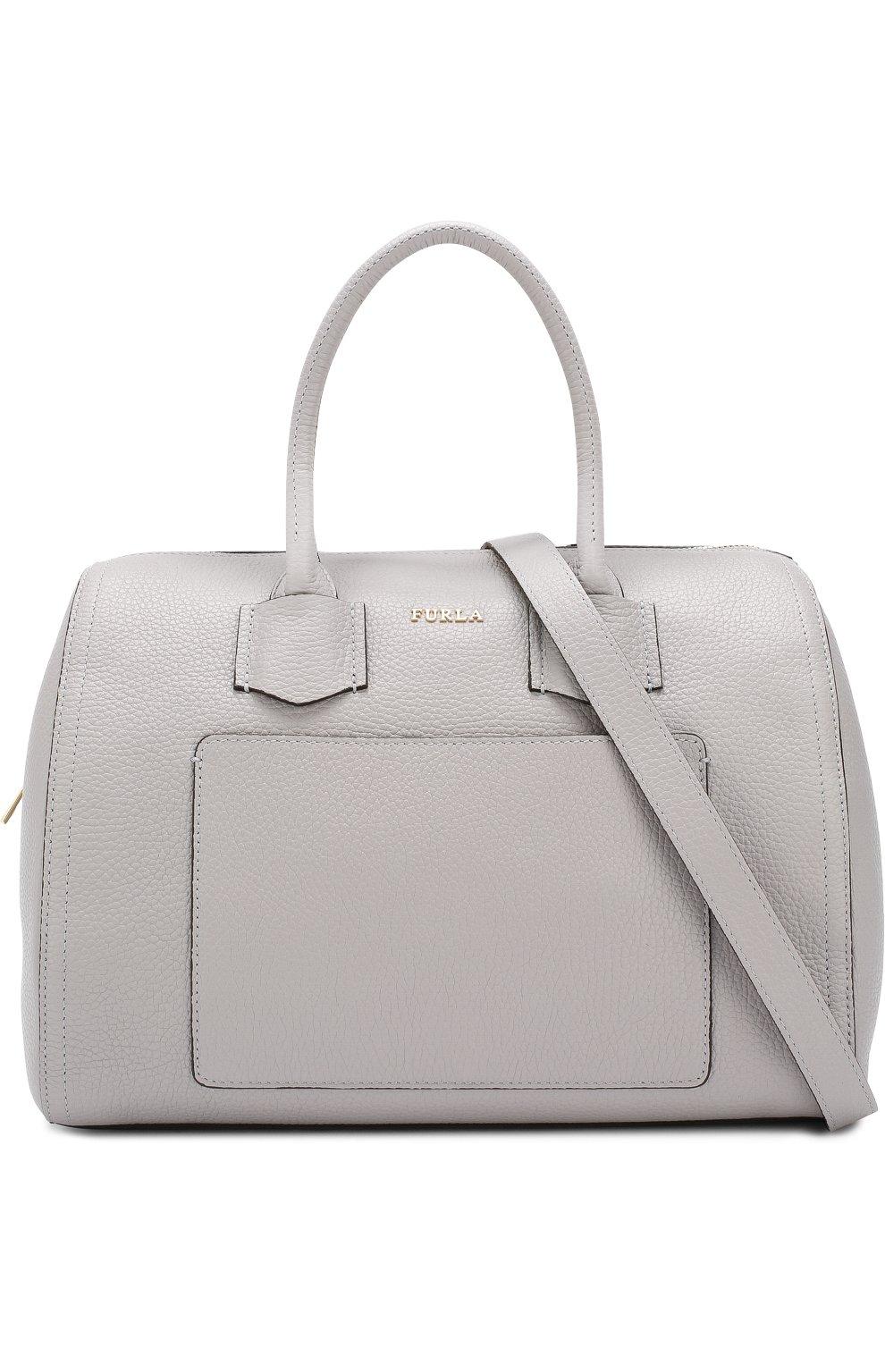 3495d9e8a665 Женская сумка alba FURLA серая цвета — купить за 27500 руб. в ...
