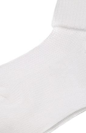 Детские хлопковые носки CATYA белого цвета, арт. 822559 | Фото 2