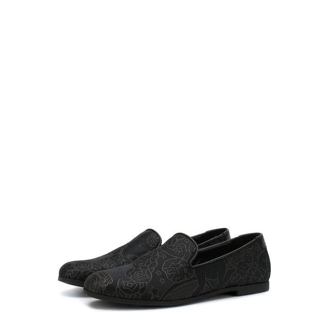 Текстильные слиперы Dolce & Gabbana — Текстильные слиперы