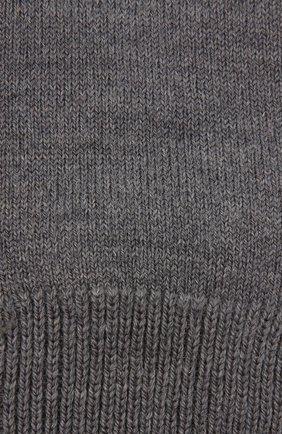 Детские утепленные носки comfort wool FALKE серого цвета, арт. 10488 | Фото 2