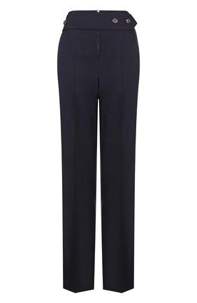 Шерстяные брюки со стрелками и завышенной талией | Фото №1