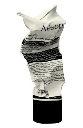 Женского средство для умывания лица purifying facial cream cleanser AESOP бесцветного цвета, арт. T100SK01 | Фото 1