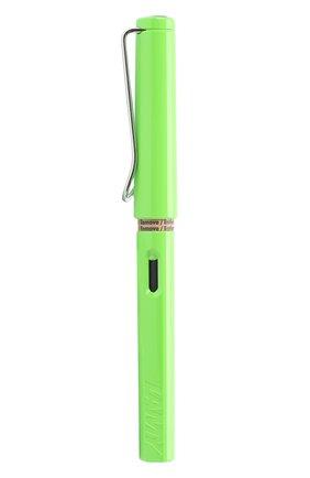 Детского перьевая ручка 013 safari LAMY зеленого цвета, арт. 4030633 | Фото 1