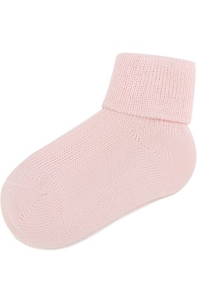Детские хлопковые носки CATYA розового цвета, арт. 822559 | Фото 1