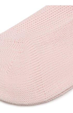 Детские хлопковые носки CATYA розового цвета, арт. 822559 | Фото 2