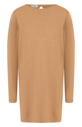 Удлиненный пуловер из смеси шерсти и кашемира | Фото №1
