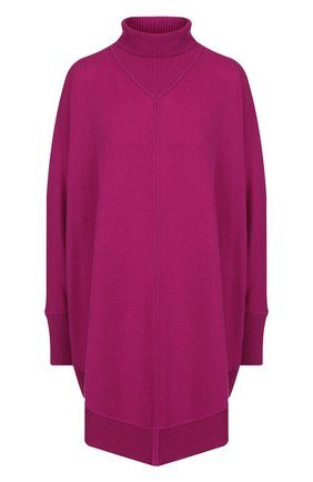 Удлиненный пуловер из смеси кашемира и шелка Tse фуксия | Фото №1