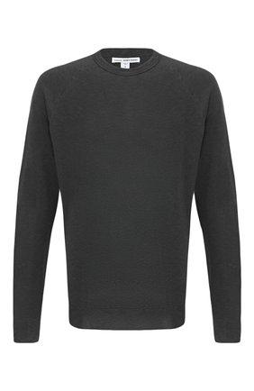 Мужской хлопковый свитшот JAMES PERSE серого цвета, арт. MXA3278 | Фото 1