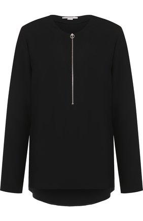 Женская блузка из вискозы STELLA MCCARTNEY черного цвета, арт. 341360/SCA06 | Фото 1