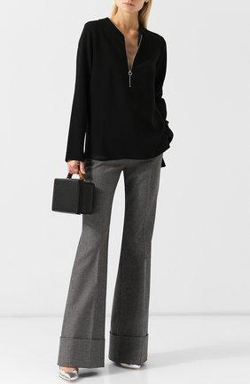 Женская блузка из вискозы STELLA MCCARTNEY черного цвета, арт. 341360/SCA06 | Фото 2