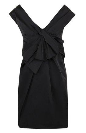 Однотонное мини-платье на бретельках Marc Jacobs черное | Фото №1
