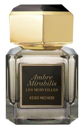 Парфюмерная вода Ambre Mirabilis Keiko Mecheri | Фото №1