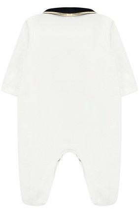 Хлопковый комбинезон Aletta белого цвета   Фото №1