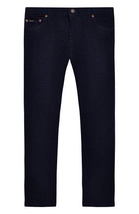 Вельветовые брюки прямого кроя   Фото №1