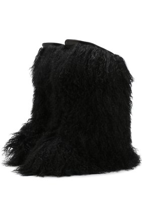 Сапоги Furry с отделкой из овчины | Фото №1