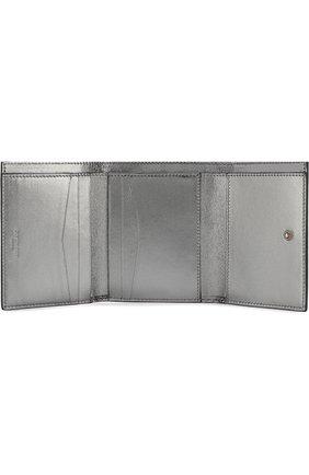 Женские кожаный кошелек GIVENCHY черного цвета, арт. BB602VB07Y   Фото 3