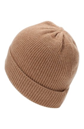 Кашемировая шапка Not Shy бежевого цвета   Фото №1