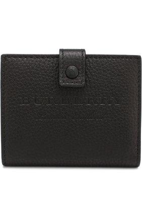 Кожаный кошелек на кнопке | Фото №1