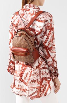 Рюкзак Campus mini Coach коричневый | Фото №1