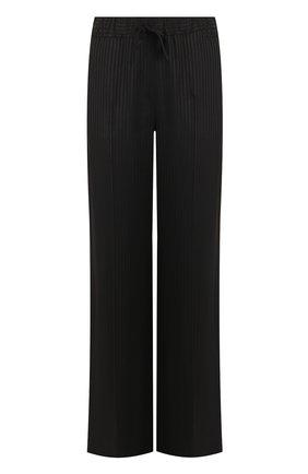 Расклешенные брюки из вискозы Ben Taverniti Unravel Project черные | Фото №1