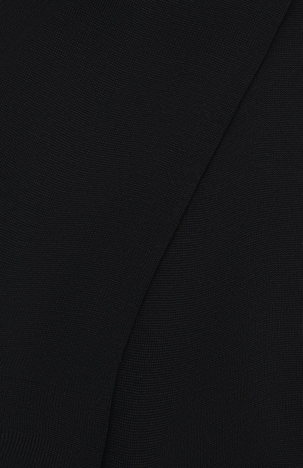 Мужские хлопковые носки ERMENEGILDO ZEGNA темно-синего цвета, арт. N4V400020 | Фото 2