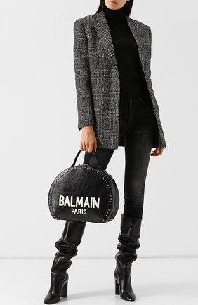 Сумка Renaissance Balmain черно-белая цвета   Фото №1