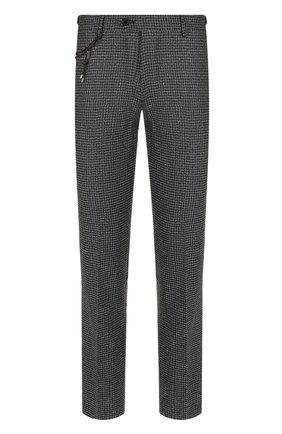 Мужской шерстяные брюки BERWICH серого цвета, арт. SC/1 FIBB/RD8071 | Фото 1