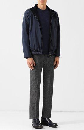 Мужской шерстяные брюки BERWICH серого цвета, арт. SC/1 FIBB/RD8071 | Фото 2