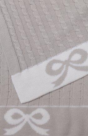 Шерстяное одеяло Baby T серого цвета | Фото №1